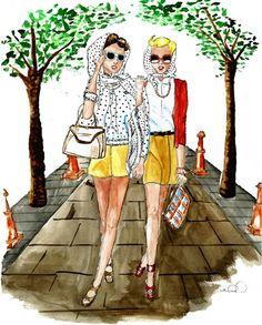 retro fashionistas!