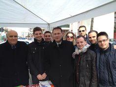 Gazebo Amministrative 2013 Con l'On. Edmondo Cirielli