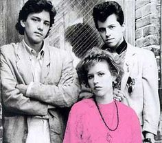 Pretty In Pink (1986):  It almost seems cliche and unfair to list this film, but how can you think of the 80's films without thinking of Molly Ringwald & John Hughes?!