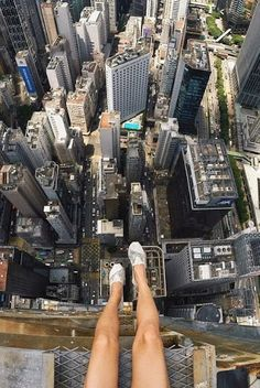 NYC - Birds eye view of Manhattan ~ Rooftopping