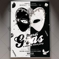White&Black Mardi Gras – Premium Flyer PSD Template. #brasil #brasileiro #brazil #brazilian #canival #carnaval #carnival #festival #flyer #mardigras #mardigras #mask #masks DOWNLOAD PSD TEMPLATE HERE: https://www.psdmarket.net/shop/white-black-mardi-gras-premium-flyer-psd-template/ MORE FREE AND PREMIUM PSD TEMPLATES: https://www.psdmarket.net/shop/
