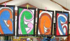 New Zealand Maori Koru Art Lesson Plan: Multicultural Art and Craft Lessons for Kids: KinderArt ®: