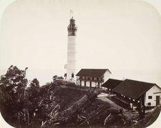 'Willemstoren' lighthouse, Poeloe Bras. Atjeh Unknown date