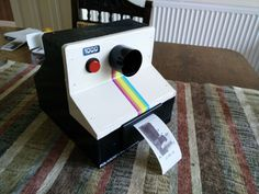 raspberry pi instant photo printer
