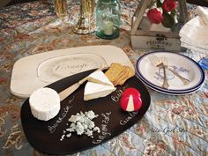 Wax Paper Transfer Cheese Tray