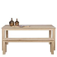 Table à manger en chêne 200x90 Oslo