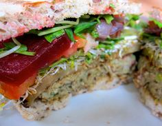 Try this tempeh bbq veggie burger on for size. It's totally meat-loving friendly! Healthy Sandwich Recipes, Healthy Sandwiches, Veggie Recipes, Whole Food Recipes, Cooking Recipes, Tempeh Burger, Vegan Burgers, Bbq Burger, Vegan Vegetarian