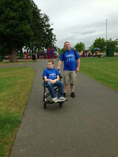 Seattle Angelman walk, Lake Bradley, Nathan & Dad Angelman Syndrome, Seattle, Baby Strollers, Things To Think About, Dads, Children, People, Baby Prams, Young Children