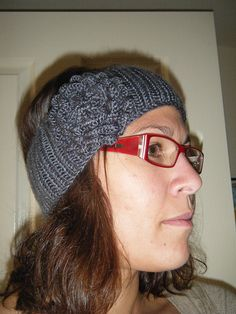 Free Knitted Headband Patterns | knit this up the other knit using the whitney headband pattern from ...