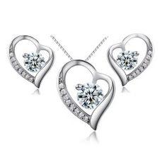 Smyckeset i äkta silver