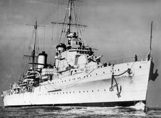 Magnificent: The Royal Australian Navy's warship HMAS Sydney, which was sunk by a German ship in November 1941