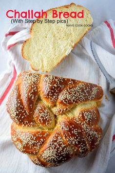 Challah Bread recipe with step by step pics to make it super easy to make at home!