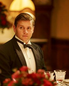 Tom Branson in Downton Abbey's Season 6 Christmas Special..
