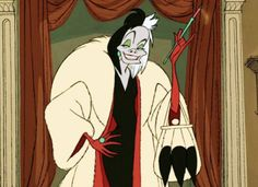 "Glenn Close played the villainous Cruella de Vil in the 1996 live-action remake of Dalmatians,"" but Emma Stone is set to play her in ""Cruella,"" an origin story for the villain. Disney Movie Quiz, Series Da Disney, Disney Wiki, Disney Pixar, Disney Bound, Disney Films, Disney Animation, Disney Cartoons, Cruella Deville"