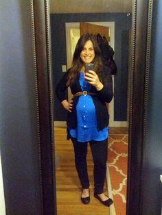 Maternity Fashion, Maternity Style, Maternity Clothes, Pregnancy Fashion from www.housefullofpretty.com