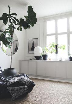 WALL TO WALL CABINET - MAIJU SAW Ikea Living Room, Living Spaces, Wall Cabinets Living Room, Ikea Wall Cabinets, White Cabinets, Cupboards, Kitchen Cabinets, Interior Inspiration, Room Inspiration