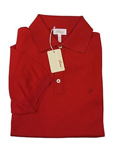"""Product review for Brioni Red Cotton Short Sleeve Polo Sweater.        Famous Words of Inspiration...""""Before everything else, getting ready is the secret of success.""""   Henry Ford — Click here for more from Henry Ford"""