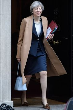 In the week that the prime minister appears on television with Jeremy Paxman for the live debate, we chart the political life of Theresa May in pictures. Balenciaga, Love Fashion, Womens Fashion, Fashion Design, Yves Saint Laurent, Premier Ministre, Donald Trump Jr, Theresa May, Shopping