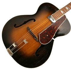 Classic archtop from the Golden Age! Archtop Guitar, Guitars, Gypsy Jazz, Jazz Guitar, Epiphone, Classic, Derby, Classical Music, Guitar