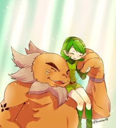 The Legend of Zelda: Ocarina of Time / Darunia and Saria