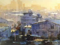 """Chien Chung Wei - """"The World Watermedia Exposition, Thailand."""""""