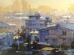"""Акварель. Картинки с выставки """"The World Watermedia Exposition, Thailand."""" - Ф_О_В"""