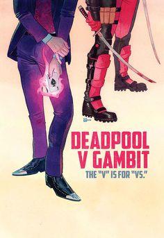 Deadpool V Gambit #2 - Kevin Wada