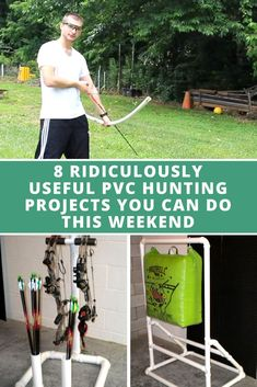8 RIDICULOUSLY USEFUL PVC HUNTING PROJECTS YOU CAN DO THIS WEEKEND - Get ready for the next season with these easy DIY hunting projects. DIY PVC projects | Hunting Projects