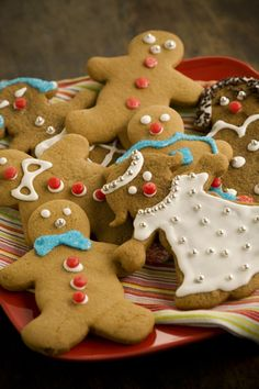 Holiday Sweets  - Gingerbread Boys and Girls.— Pauladeen.com