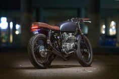 Backyard build: Dave Lehl's Honda CB550