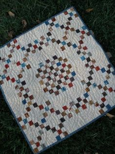 1800's Vintage Quilt by Sheryl Johnson *DOWNLOAD PROJECT SHEET@ http://www.modabakeshop.com/2009/09/1800s-vintage-quilt.html;