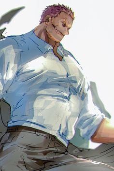 One Piece Big Mom, One Piece Ship, One Piece Ace, One Piece Drawing, One Piece Manga, Anime Dad, Anime Guys, Big Mom Pirates, One Piece Fanart