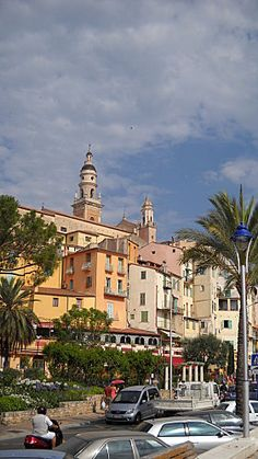 Menton, France #www.frenchriviera.com