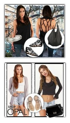 """""""SHOP - OPAL - MARCH"""" by ladymargaret ❤ liked on Polyvore featuring J.J. Winters, Satya and L*Space"""