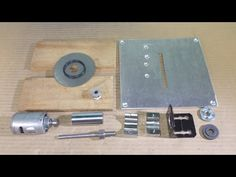 Homemade Mini Circular Table Home Built Jig Saw DIY Wood Cutting PCB Mac...