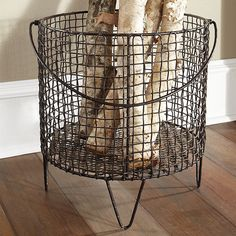 This is the perfect basket to make a glass top display table! $189