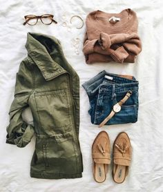 Casual Fall Outfits That Will Make You Look Cool – Fashion, Home decorating Komplette Outfits, Casual Outfits, Fashion Outfits, Fashion Tips, Looks Style, Mom Style, Fall Winter Outfits, Autumn Winter Fashion, Mode Simple
