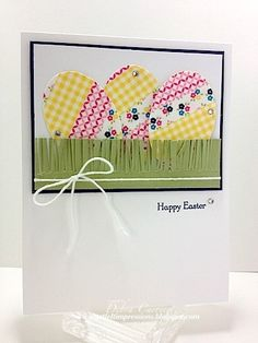 Washi Easter Eggs by pdncurrier - Cards and Paper Crafts at Splitcoaststampers