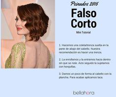 Paso a paso para realizar un falso bob. Encuentra desde Bellahora las mejores peluquerías de tu ciudad y reserva cita de manera online.