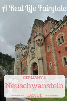 Exploring Germany's Neuschwanstein Castle, a real life fairytale.