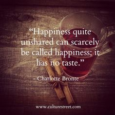 Culture Street | Quote of the Day by Charlotte Bronte