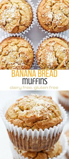 Dairy Free Banana Bread Muffins | Personally Paleo