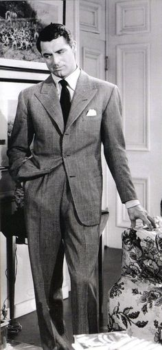 Cary Grant in The Awful Truth, 1937.                                                                                                                                                                                 More