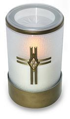 Sentinel® Tribute Flameless Memorial Candle with Cross