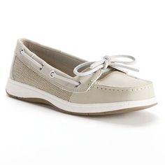 Croft & Barrow Boat Shoes - Women everyday shoes for school#PCandKohlsBTS