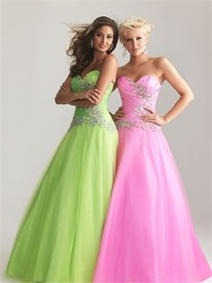 A-line Strapless Bodice With Ruched Beaded Taffeta Prom Dress PD2087 www.simpledresses.co.uk £129.0000