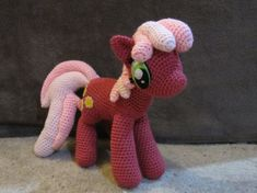 Awesome My Little Pony Free Crochet Patterns   176x235