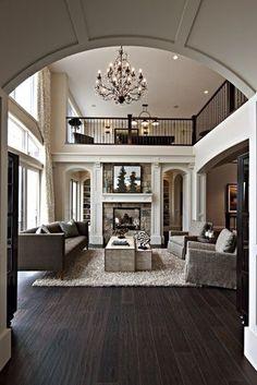 Living Room / High Ceiling