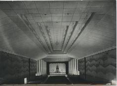 Interior of Fox's 20th Century #Theatre, #Durban, #Natal, #cinema