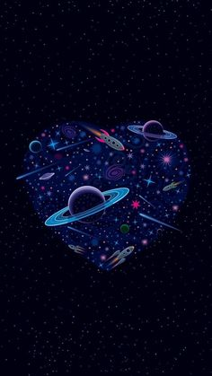 Planets Wallpaper, Wallpaper Space, Dark Wallpaper, Screen Wallpaper, Galaxy Wallpaper, Iphone Wallpaper, Tumblr Wallpaper, Wallpapers Tumblr, Cute Wallpapers